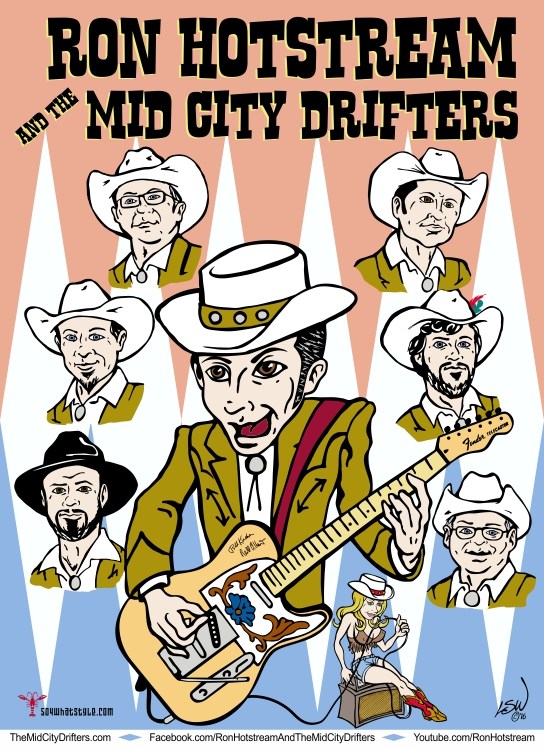 Rod Hotstream & the Mid City Drifters